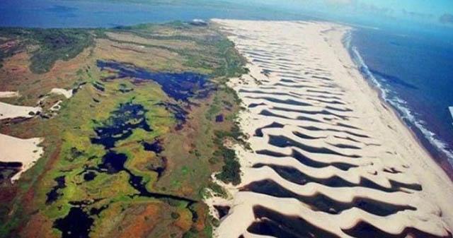 Sa mạc hiếm có nhất thế giới nơi nước nhiều hơn cả cát - 1