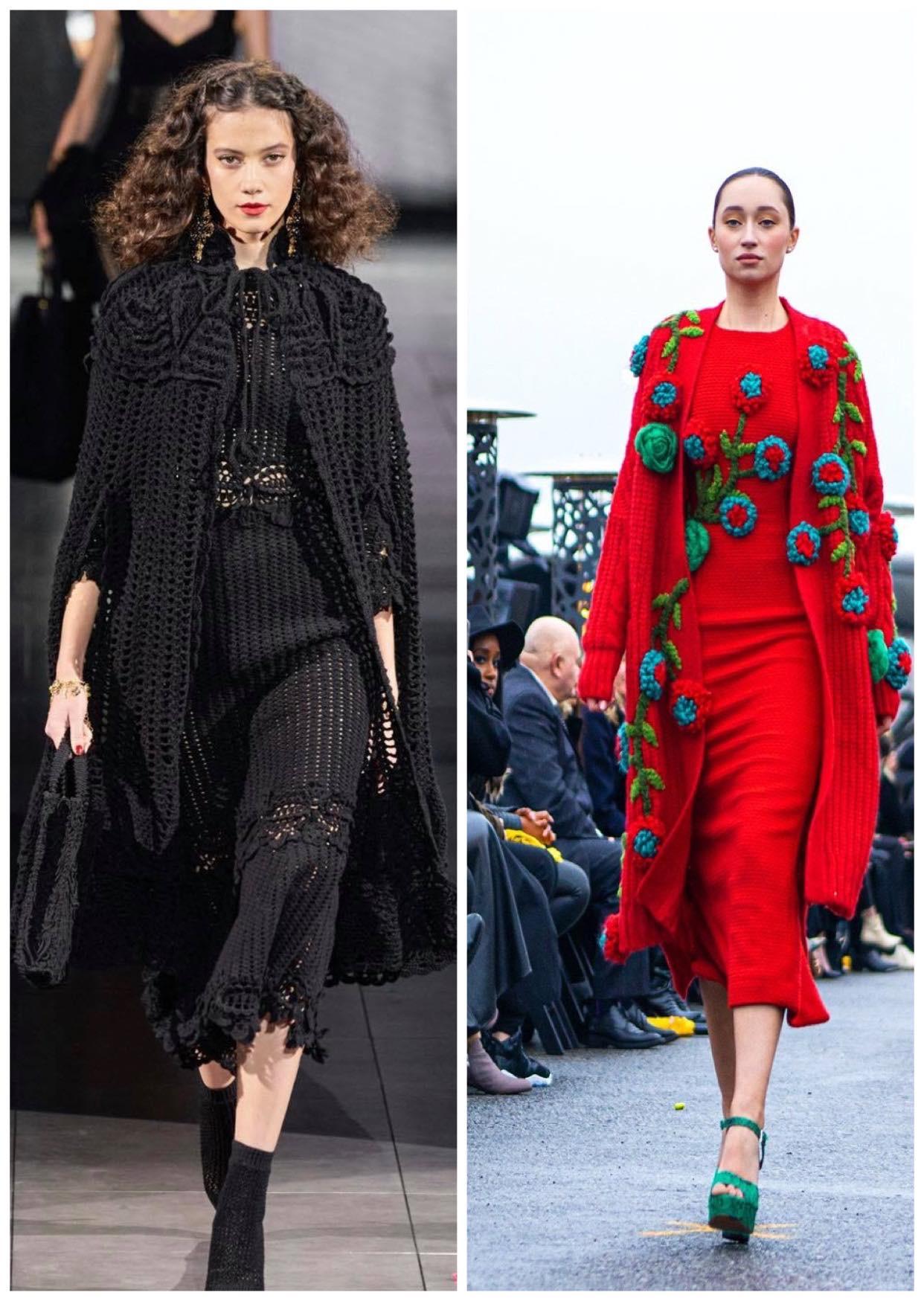 Dolce&Gabbana và NTK Việt đều chung ý tưởng thổi hồn cho len sợi - 1