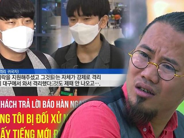 Phim - Du khách Hàn chê bai vì bị cách ly, nam danh hài liền bức xúc nói 1 câu duy nhất