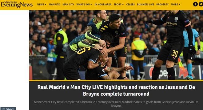 Man City ngược dòng hạ Real: Nể phục Guardiola, báo thân Real vẫn đòi công lý - 1