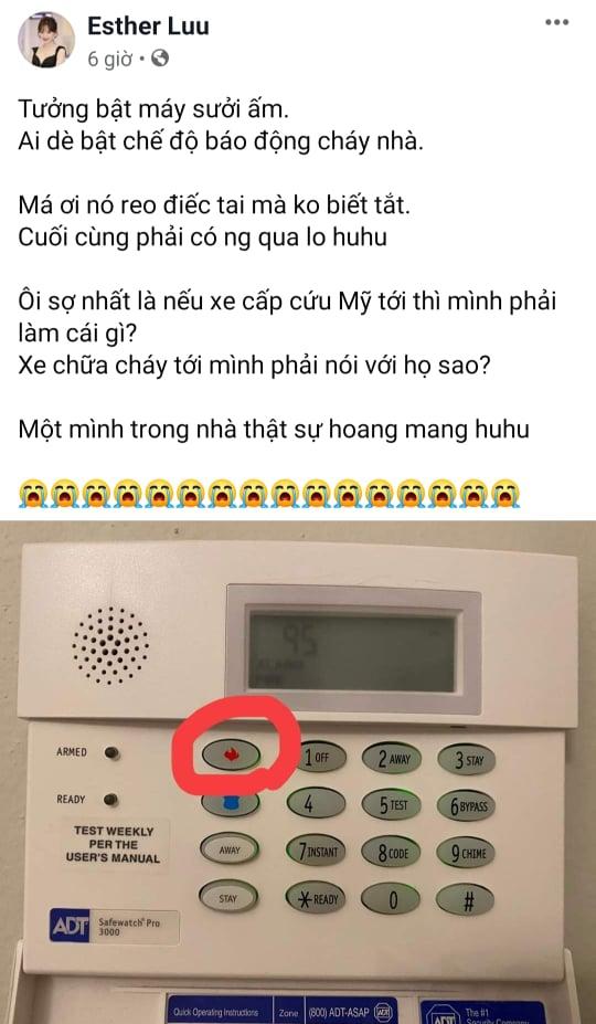 Hari Won nhấn nhầm nút báo động cháy nhà và cái kết ngỡ ngàng - 1