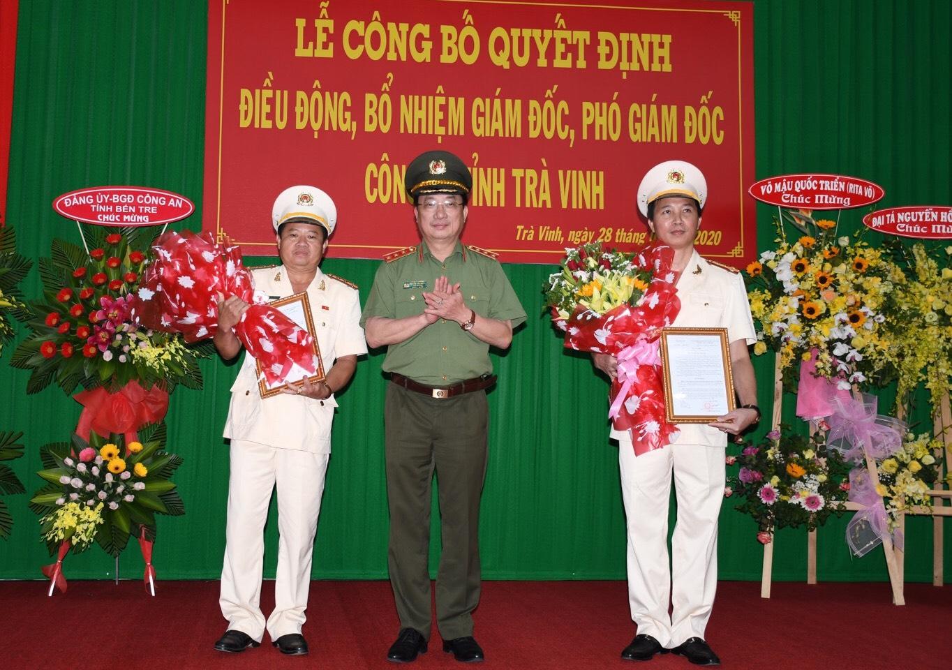 Trà Vinh có tân Giám đốc và Phó Giám đốc công an - 1