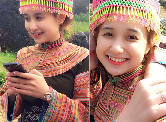 """Đằng sau nhan sắc ngọt ngào của """"hot girl dân tộc Mông"""" nổi tiếng sau 1 đêm - 1"""