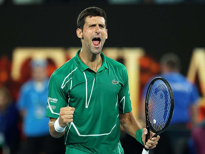 Video tennis Djokovic - Monfils: Đối thủ khó chịu - 1