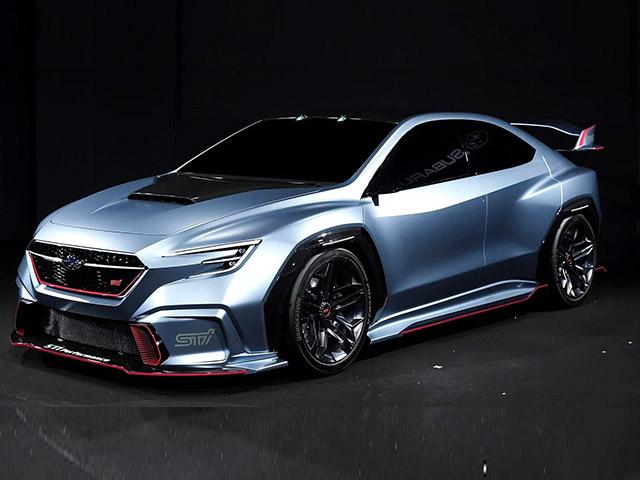 Subaru sử dụng động cơ hoàn toàn mói trên mẫu xe WRX STI thế hệ tiếp theo