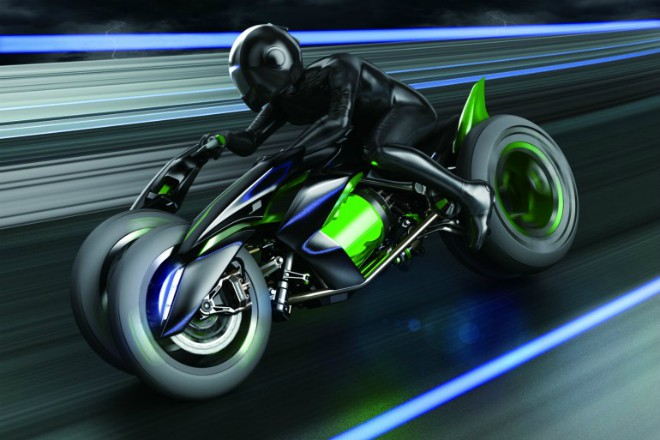 """Kawasaki J Concept có khả năng biến hình """"ma thuật"""", đỉnh cao của công nghệ xe môtô - 1"""