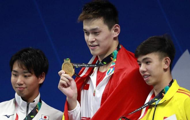 Việt Nam mất HCV dù siêu sao bơi Sun Yang dính doping: Huy Hoàng nói câu ngỡ ngàng - 1
