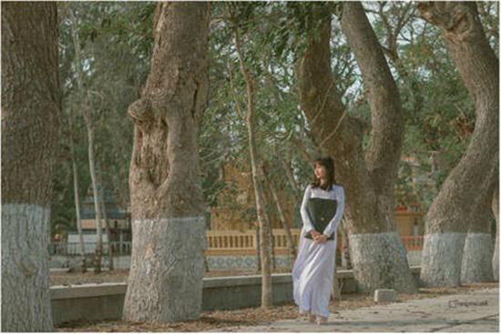 Bộ ảnh đậm chất thập niên 80 của nữ sinh An Giang gây sốt mạng xã hội - 2