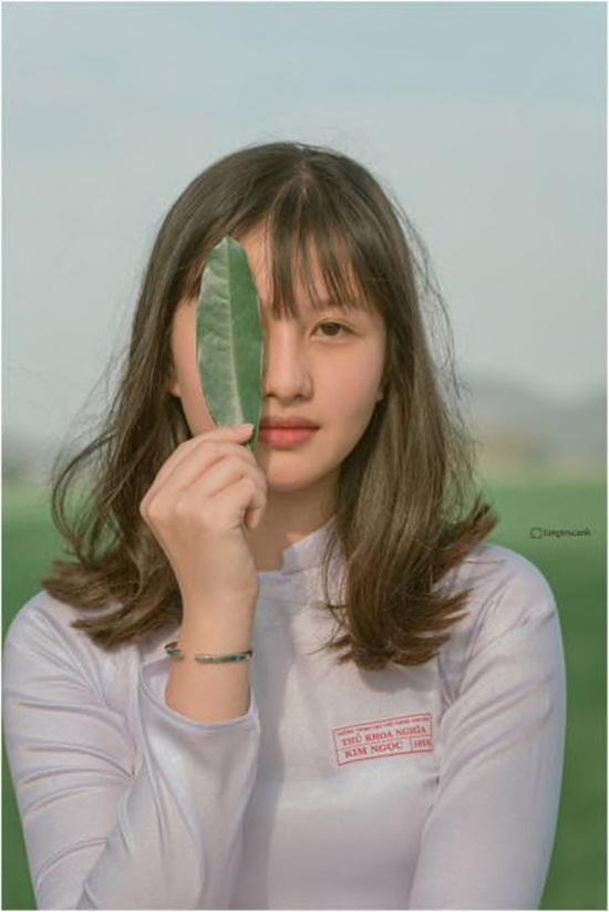 Bộ ảnh đậm chất thập niên 80 của nữ sinh An Giang gây sốt mạng xã hội - 6