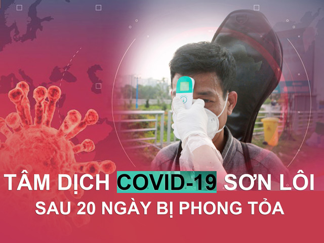 Tâm dịch Covid-19 Sơn Lôi sau 20 ngày bị phong tỏa