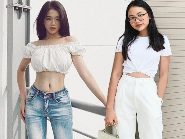 Thời trang - Phương Mỹ Chi diện áo ngắn kiểu lạ đời, Link Ka thì ngược lại