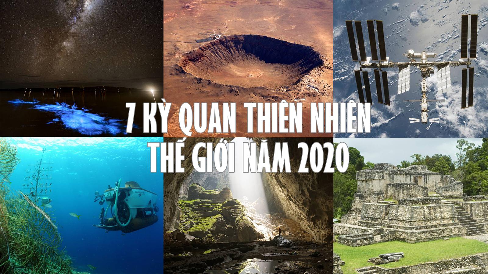 Hang Sơn Đoòng lọt vào 7 kỳ quan thiên nhiên của năm 2020 - 1