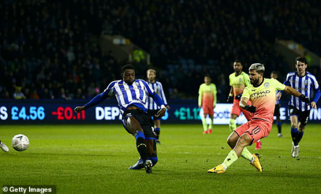 Video highlight trận Sheffield Wednesday - Man City: Đẳng cấp ngôi sao, nhọc nhằn đi tiếp - 1