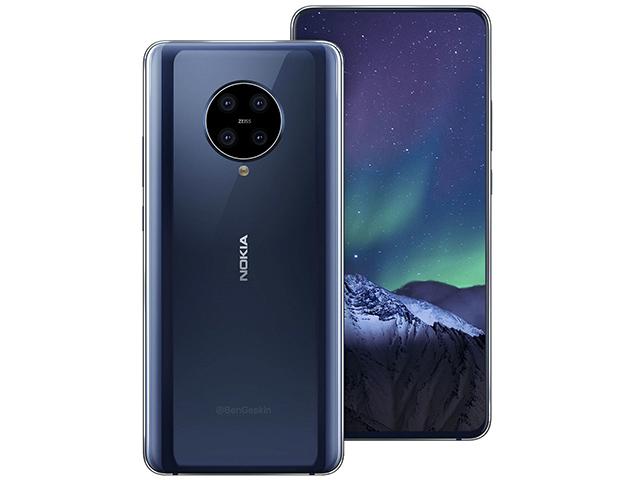 Nokia 9.2 PureView xuất hiện, thiết kế đẹp