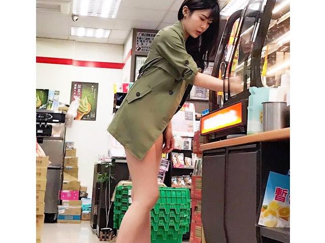 Phong cách mặc gây hốt hoảng, tưởng quên quần của phụ nữ Trung Quốc