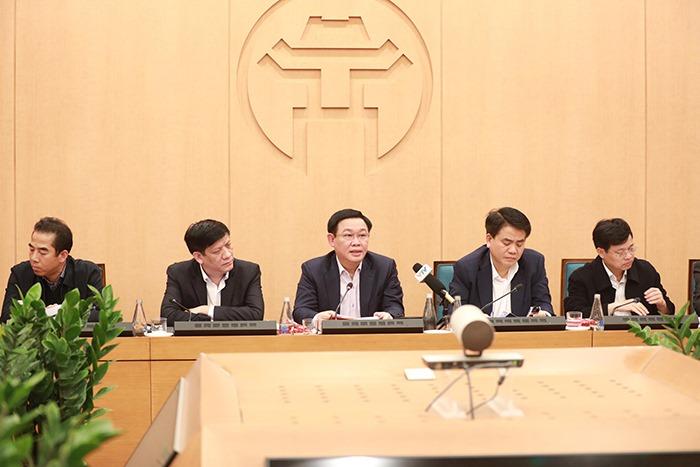 Bí thư Hà Nội khẳng định thành phố đủ tiềm lực đảm bảo thực phẩm cho người dân - 1