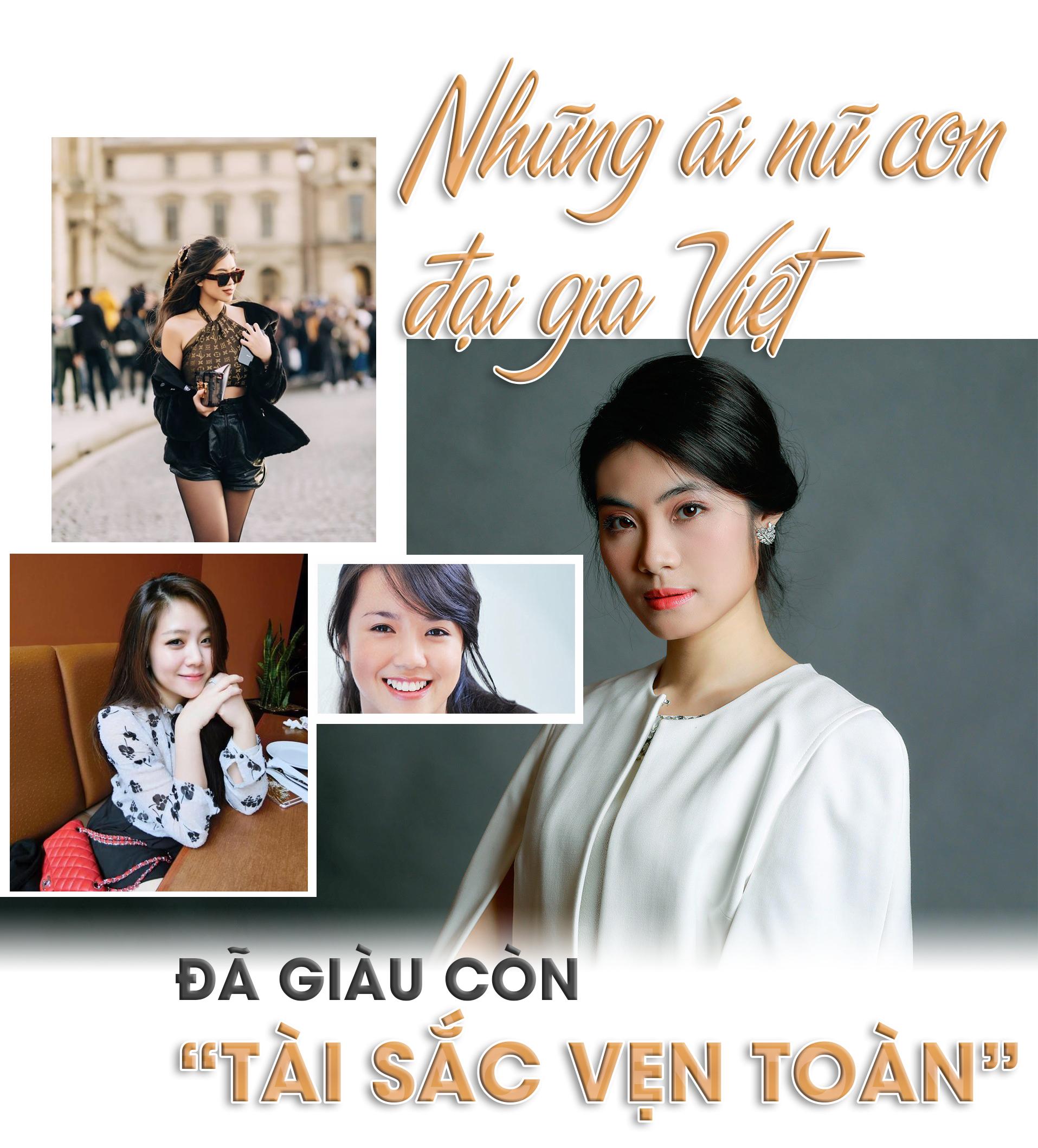 """Những ái nữ con đại gia Việt: Đã giàu còn """"tài sắc vẹn toàn"""" - 1"""