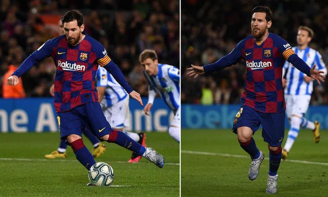 Messi lập kỷ lục thẻ phạt, phá dớp penalty xô đổ kỷ lục của Ronaldo - 1