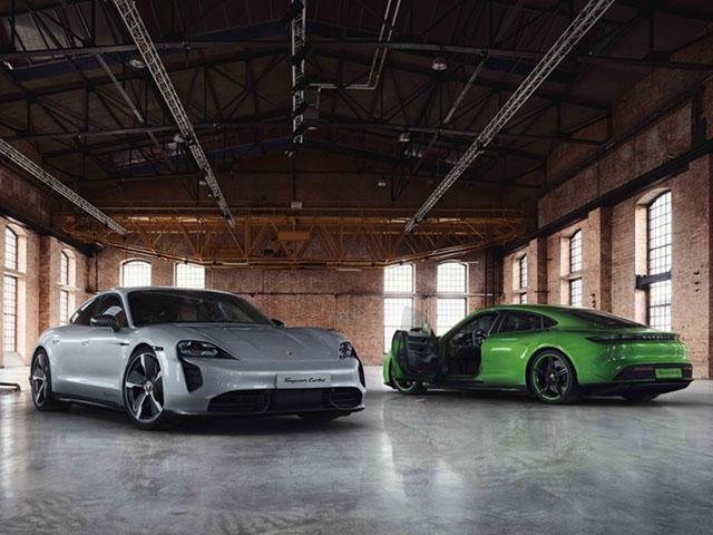 Chiêm ngưỡng gói nâng cấp SportDesign trên xe Porsche Taycan