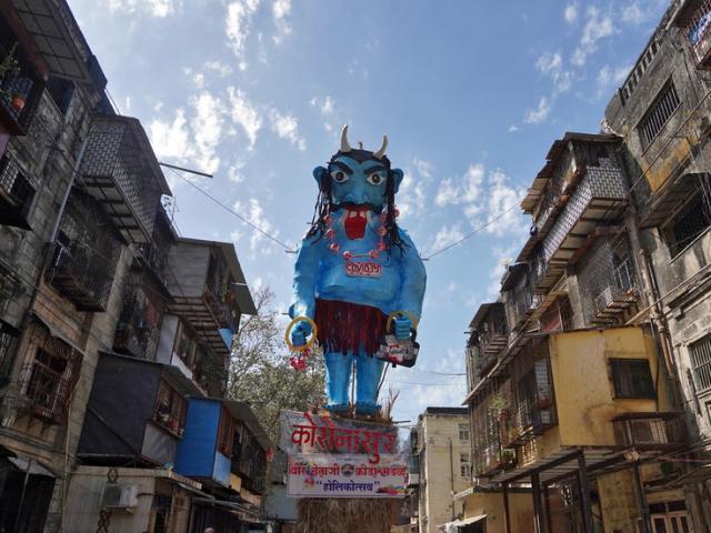 """Ấn Độ tổ chức nghi lễ """"lạ"""" tiêu diệt """"quỷ Covid-19"""""""
