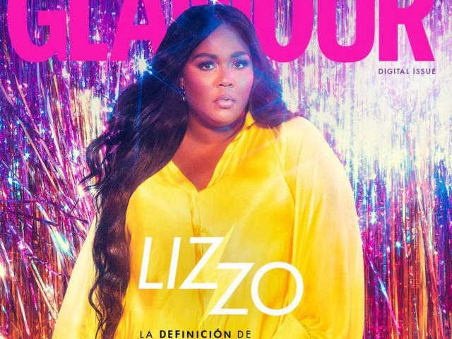 Danh ca Lizzo diện váy Công Trí bùng cháy trên bìa Glamour