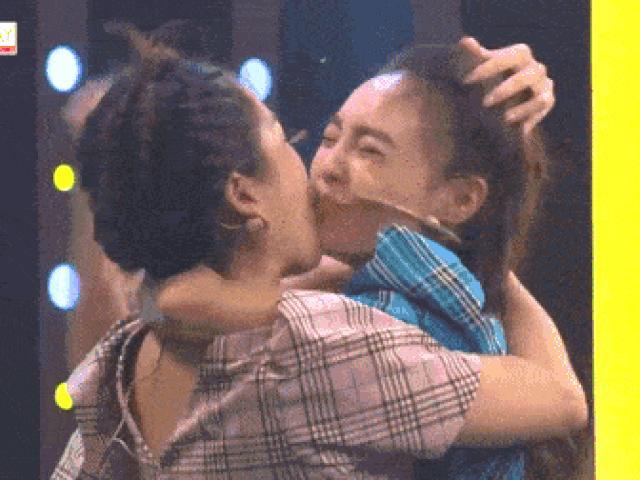 Ninh Dương Lan Ngọc bị cưỡng hôn ngay trên sóng truyền hình