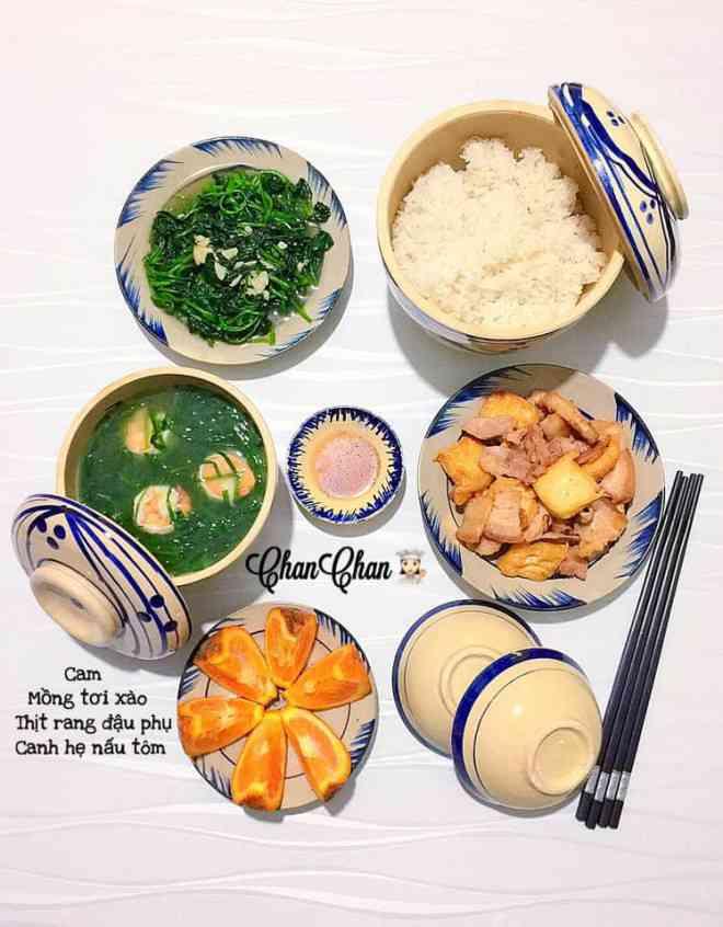 Mâm cơm 30 ngày của 9x giúp mẹ đảm khỏi vắt óc nghĩ ăn gì mỗi ngày - 1