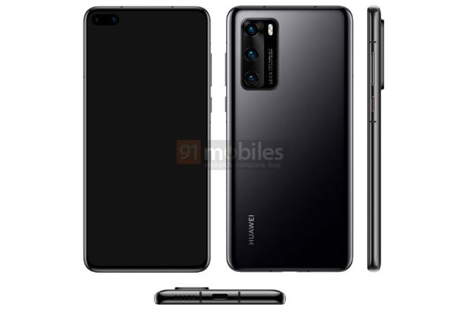 Choáng với mức giá dự kiến của loạt Huawei P40 - 1