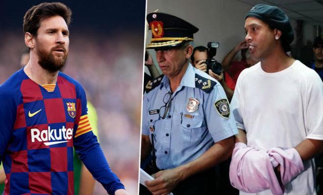 Messi chi 4 triệu euro cứu Ronaldinho: Thực hư vụ nhìn đàn anh ngồi tù - 1