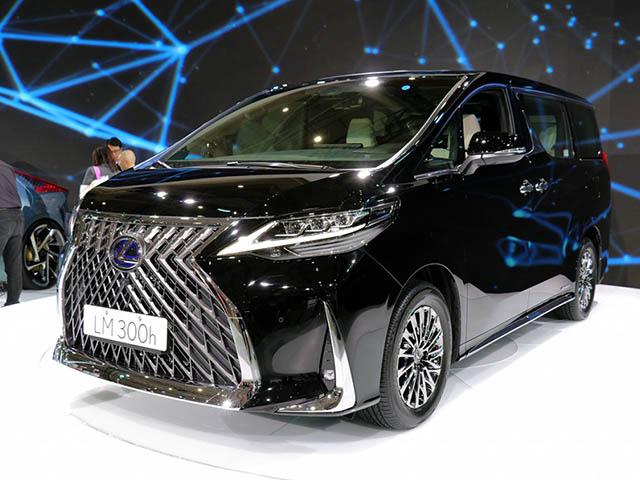 Lexus ra mắt dòng MPV LM300h tại Thái Lan, giá hơn 4 tỷ đồng