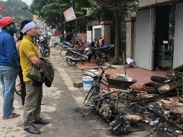 Sức khoẻ của cháu bé trong vụ cháy 3 người tử vong ở Hưng Yên