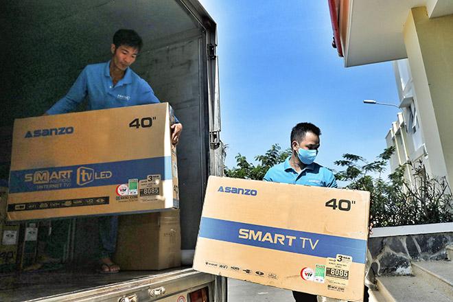 Asanzo trang bị Tivi smart 40 inch hỗ trợ công tác điều trị Covid 19 tại Bệnh viện Cần Giờ - 1