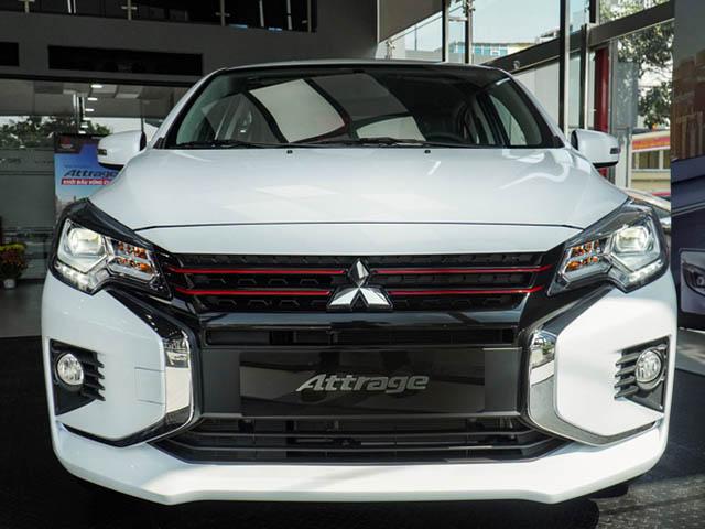 Mitsubishi Attrage phiên bản nâng cấp chính thức ra mắt thị trường Việt