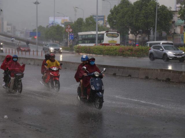 Không khí lạnh tràn về, miền Bắc có mưa to, đề phòng mưa đá