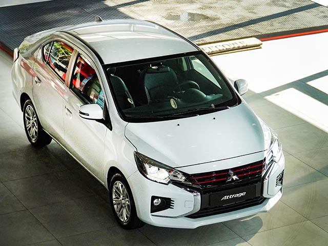 Giá lăn bánh Mitsubishi Attrage 2020 tại Việt Nam, vừa túi tiền