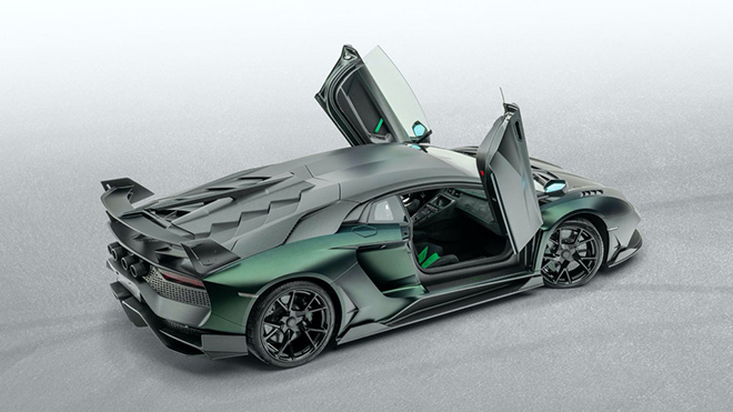 Siêu bò Lamborghini Aventador SVJ thoát xác qua bàn tay hãng độ Mansory - 6