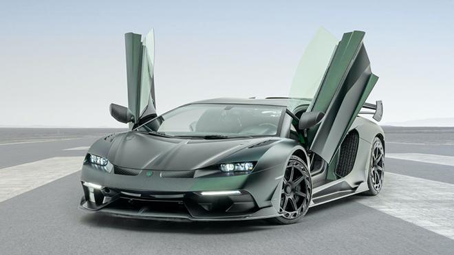 Siêu bò Lamborghini Aventador SVJ thoát xác qua bàn tay hãng độ Mansory - 1