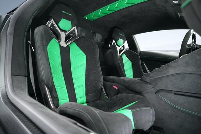 Siêu bò Lamborghini Aventador SVJ thoát xác qua bàn tay hãng độ Mansory - 10