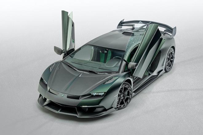 Siêu bò Lamborghini Aventador SVJ thoát xác qua bàn tay hãng độ Mansory - 9