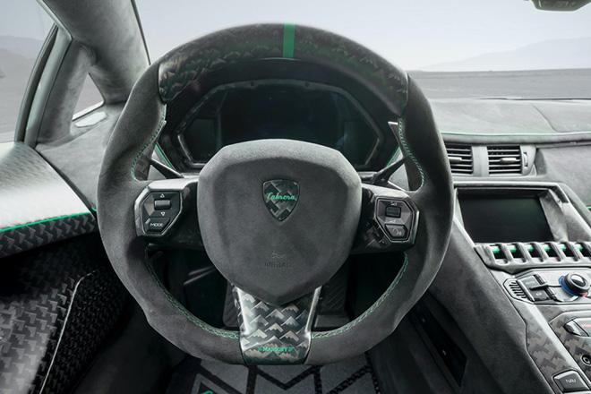 Siêu bò Lamborghini Aventador SVJ thoát xác qua bàn tay hãng độ Mansory - 11