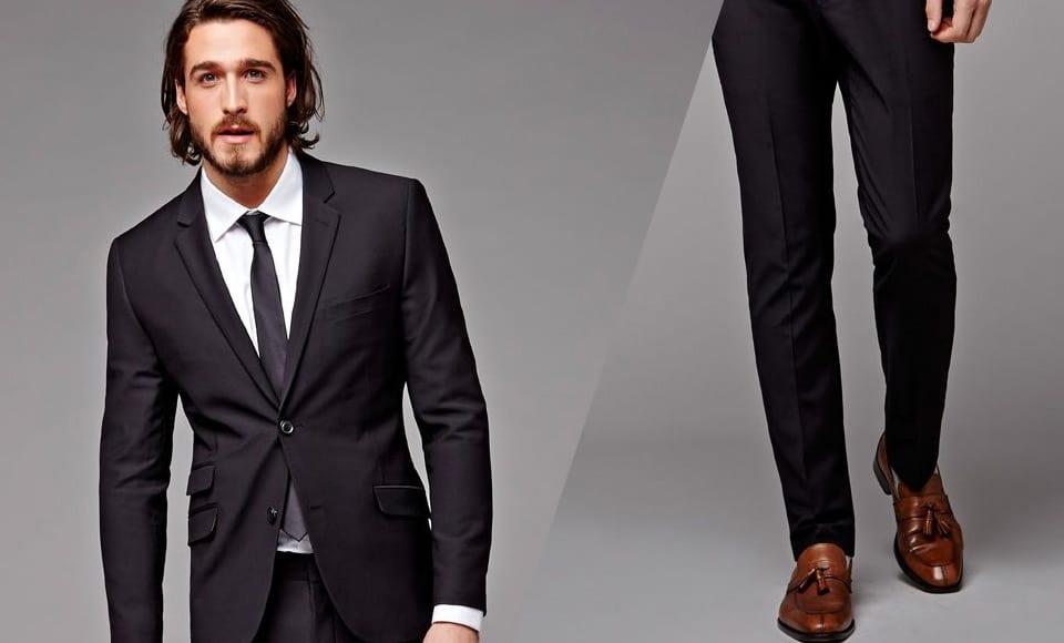 Công thức luôn đúng để phối giày nâu và quần đen cho phái mạnh - 1