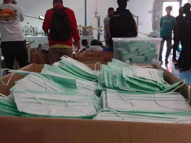 Cơ sở sản xuất khẩu trang giả tinh vi, hàng chục ngàn chiếc suýt ra thị trường