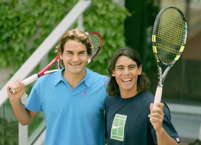 """Thâm cung bí sử tennis: Nadal """"làm thầy"""" Federer khi 17 tuổi - 1"""