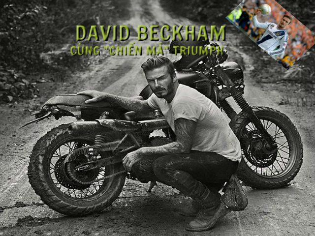 """Khám phá xế nổ """"đong đầy"""" kỷ niệm với ngôi sao David Beckham"""