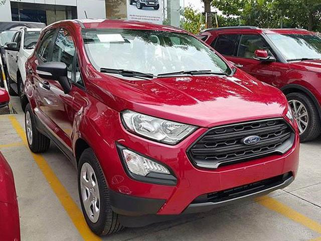 Ford EcoSport giảm giá 90 triệu đồng, cạnh tranh Hyundai KONA