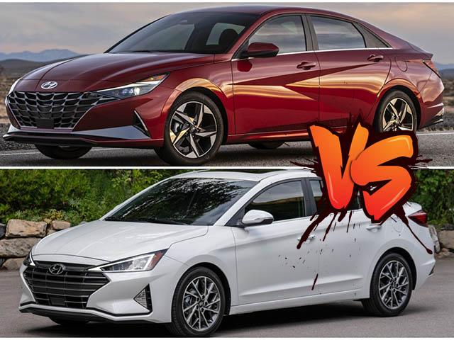 Những điểm thay đổi trên Hyundai Elantra thế hệ cũ và mới