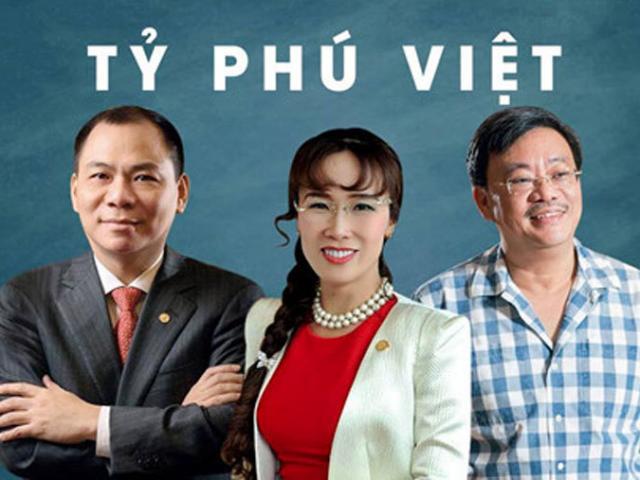 Dịch Covid-19 hoành hành, giới siêu giàu Việt Nam lặng nhìn tài sản bốc hơi