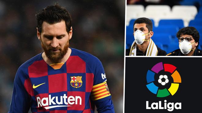 NÓNG: La Liga chính thức hoãn vô thời hạn, ngôi vô địch bỏ ngỏ - 1