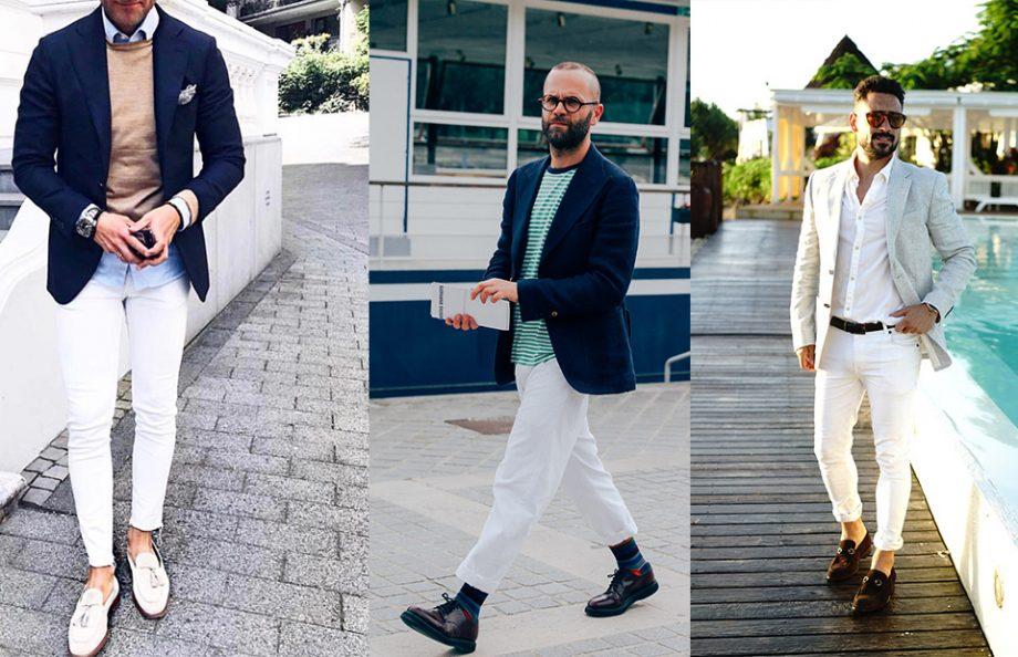 Cách mặc jean trắng nam tính và sành điệu - 2