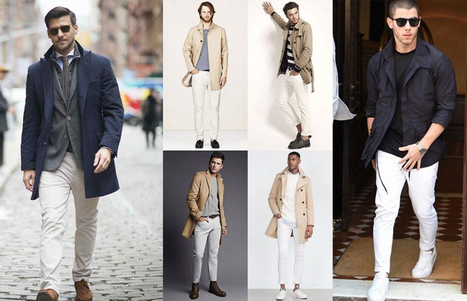 Cách mặc jean trắng nam tính và sành điệu - 5
